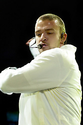 HALLAM FM ARENA SHEFFIELD<br /> Justin Timberlake<br /> 14 December 2003<br /> <br /> image copyright Paul David Drabble
