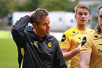 Fotball , 8. juli 2018 , Eliteserien , Bodø/Glimt - Brann<br /> trener Kjetil Knutsen , Glimt