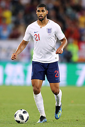 England's Ruben Loftus-Cheek during the FIFA World Cup Group G match at Kaliningrad Stadium. PRESS ASSOCIATION Photo. Picture date: Thursday June 28, 2018. See PA story WORLDCUP England. Photo credit should read: Owen Humphreys/PA Wire. RESTRICTIONS: Editorial use only. No commercial use. No use with any unofficial 3rd party logos. No manipulation of images. No video emulation