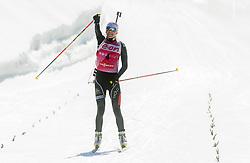 MAKARAINEN Kaisa of Finland winning during Women 10 km Pursuit competition of the e.on IBU Biathlon World Cup on Saturday, March 8, 2014 in Pokljuka, Slovenia. Photo by Vid Ponikvar / Sportida