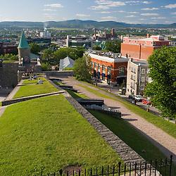Parc-de-l'Artillerie (Artillery Park) in Quebec City's Old Town.