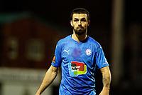 Jordan Williams. Stockport County FC 0-2 Sutton United FC. Vanarama National League. Edgeley Park. 2.2.21