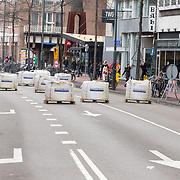 NLD/Eindhoven/20190302  - Romario bij carnavalsoptocht 2019 in Eindhoven, Roadblocks