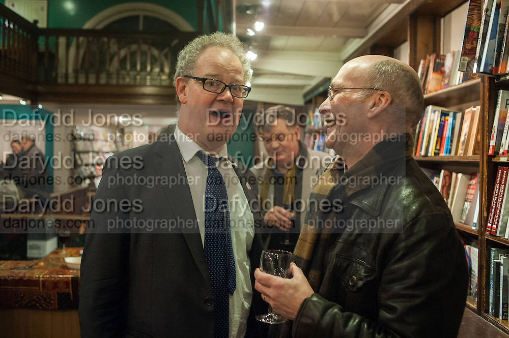 EDWARD FITZGERALD; JOHN LANCASTER, William Fitzgerald, Book launch ,  'How to read a Latin poem - if you can't read Latin yet' published by OUP.- Daunts bookshop Marylebone, London 21 February 2013.