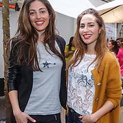 NLD/Amsterdam/20150408 - Launch Beautygloss by JOSH V dresses #BGxJV, Nadia Paulesa Poeschmann en Nadeche de Zwart