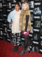 Meryl Fernandes; Kylie Babbington Four UK Premiere, Empire Cinema, Leicester Square, London, UK. 10 October 2011. Contact: Rich@Piqtured.com +44(0)7941 079620 (Picture by Richard Goldschmidt)