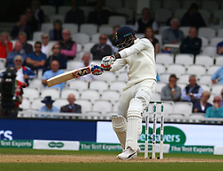 September 11, 2018 - London, England, United Kingdom - Keaton.L.Rahul of India hits out.during International Specsavers Test Series 5th Test match Day Five  between England and India at Kia Oval  Ground, London, England on 11 Sept 2018. (Credit Image: © Action Foto Sport/NurPhoto/ZUMA Press)