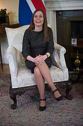 May 2, 2019 - London, London, United Kingdom - Image licensed to i-Images Picture Agency. 02/05/2019. London, United Kingdom.  Prime Minister of Iceland Katrin Jakobsdottir at No 10 Downing Street in London. (Credit Image: © Cpna/i-Images via ZUMA Press)