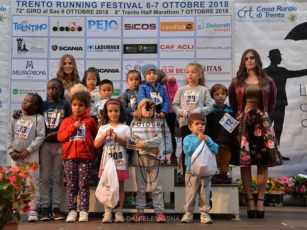 Trento Running Festival - October the 6th, 2018 -  Trento, Italy.<br /> Giro al Sas © DANIELEMOSNA.IT