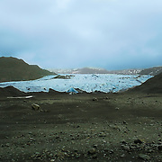 On April 14, 2010 a huge eruption took place in this remote part of the planet. The devastation caused by the volcano  Eyjafjallajökull paralyzed the European airspace for several days. The force of the eruption caused floods which destroyed  part of Myrdalsjokull glacier.