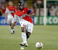 Fotball<br /> Frankrike 2003/04<br /> Monaco v Rennes<br /> 15. mai 2004<br /> Foto: Digitalsport<br /> NORWAY ONLY<br /> <br /> SHABANI NONDA (MON)