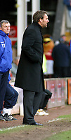 Photo: Dave Linney.<br />Walsall v Blackpool. Coca Cola League 1. 31/12/2005.<br />Paul Merson(Walsall Mgr) watches from the touchline.