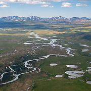 Headwaters of the Mulchatna River in southwest Alaska.