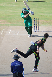 © Licensed to London News Pictures. 30/09/2012. South African .Hashim Amla batting during the T20 Cricket World super 8's match between Australia Vs South Africa at the R Premadasa International Cricket Stadium, Colombo. Photo credit : Asanka Brendon Ratnayake/LNP