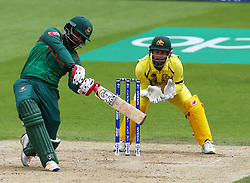 June 5, 2017 - London, United Kingdom - Tamim Iqbal Khan of Bangladesh.during the ICC Champions Trophy match Group A between Australia and Bangladesh at The Oval in London on June 05, 2017  (Credit Image: © Kieran Galvin/NurPhoto via ZUMA Press)