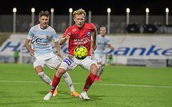 Anders Klynge (Silkeborg IF) under kampen i 1. Division mellem FC Helsingør og Silkeborg IF den 11. september 2020 på Helsingør Stadion (Foto: Claus Birch).