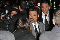 LONDON - FEBRUARY 13: Anil Kapoor attends the public relations disaster that was the outside arrivals at the ELLE Style Awards at the Savoy Hotel, London, UK on February 13, 2012. (Photo by Richard Goldschmidt)