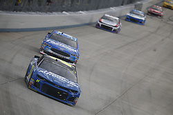 October 7, 2018 - Dover, Delaware, United States of America - William Byron (24) battles for position during the Gander Outdoors 400 at Dover International Speedway in Dover, Delaware. (Credit Image: © Justin R. Noe Asp Inc/ASP via ZUMA Wire)