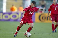 FOTBALL - CONFEDERATIONS CUP 2003 - GROUP B - TYRKIA v USA - 030619 - GOKDENIZ KARADENIZ (TUR) - PHOTO STEPHANE MANTEY / DIGITALSPORT