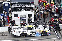 July 22, 2018 - Loudon, New Hampshire, United States of America - Kasey Kahne (95) comes down pit road for service during the Foxwoods Resort Casino 301 at New Hampshire Motor Speedway in Loudon, New Hampshire. (Credit Image: © Justin R. Noe Asp Inc/ASP via ZUMA Wire)