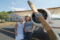 Lakes Biplane flight over Lake Winnipesaukee