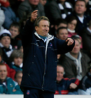 Photo: Steve Bond/Richard Lane Photography. Derby County v Crystal Palace. Coca Cola Championship. 06/12/2008. Neil Warnock is not happy with the equaliser