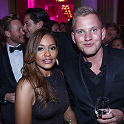 NLD/Amsterdam/20131111 - Beau Monde Awards 2013, Winonah de Jong - Leeflang en Wim Glas