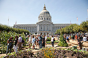 Slow Food celebration in San Francisco, California