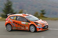 MOTORSPORT - WORLD RALLY CHAMPIONSHIP 2010 - RALLYE DE FRANCE / ALSACE  - STRASBOURG (FRA) - 30/09 TO 03/10/2010 - PHOTO : FRANCOIS BAUDIN / DPPI - <br /> SOLBERG Henning (NOR) / MINOR Ilka (AUS) - STOBART M-SPORT FORD RALLY TEAM - FORD Fiesta S2000 - Action