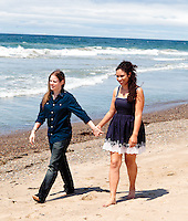 Tika and Joni - They're engaged and are such a beautiful couple.