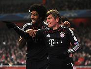 Arsenal v FC Bayern Munich 190213