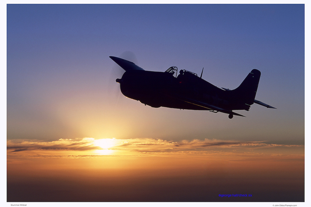 Wildcat at sunset, aerial photography