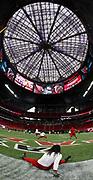 Pregame before an NFL preseason football game between the Arizona Cardinals and the Atlanta Falcons, Friday, August 26, 2017 in Atlanta. (Photo by Mike Zarrilli/Panini)