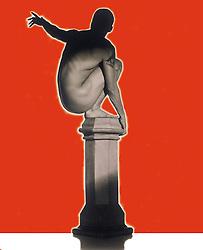 Man on pillar reaching for an entity VA1_344_037