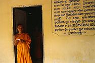 Au monastère- Siem Reap, Cambodge, 1998