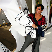 NLD/Amsterdam/20070821 - Presentatie kledinglijn Dyanne Beekman,