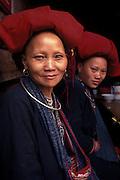 Portrait of Hmong tribeswomen, Sapa, Vietnam