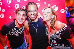 Convidados aproveitam o Camarote Renner  durante a 22ª edição do Planeta Atlântida. O maior festival de música do Sul do Brasil ocorre nos dias 3 e 4 de fevereiro, na SABA, na praia de Atlântida, no Litoral Norte gaúcho. Foto: Emmanuel Denaui / Agência Preview