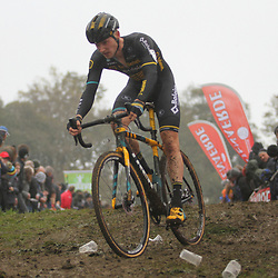 01-11-2019: Wielrennen: DVV trofee Veldrijden: Koppenberg: Corne van Kessel