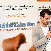 NLD/Amsterdam/20160603 - Onthulling stemmencast Huisdiergeheimen, Levi van Kempen