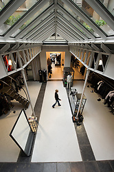 Brussels is well behind Antwerp when it comes to fashion, but the capital has its own clutch of cutting edge designers, conveniently aligned along rue Antoine Dansaert just a few blocks from the Grand Place. The loft-like Stilj (74 rue Antoine Dansaert ; 32-2-512-03-13) showcases better-known designers like Dries van Noten from rival Antwerp. (Photo © Jock Fistick)