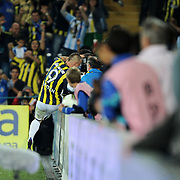 Fenerbahce's Mirosloav STOCH celebrate his goal during their Turkish superleague soccer match Fenerbahce between Istanbul BB at the Sukru Saracaoglu stadium in Istanbul Turkey on Saturday 01 October 2011. Photo by TURKPIX