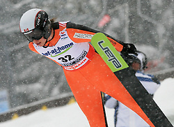 Nata de Leeuw of Canada at Ski Jumping ladies Normal Hill Individual of FIS Nordic World Ski Championships Liberec 2008, on February 20, 2009, in Jested, Liberec, Czech Republic. (Photo by Vid Ponikvar / Sportida)