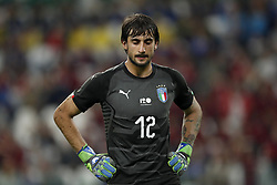 goalkeeper Mattia Perin of Italy during the International friendly match between Italy and The Netherlands at Allianz Stadium on June 04, 2018 in Turin, Italy