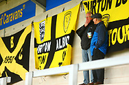 Brewers fans begin to gather for the game during the EFL Sky Bet League 1 match between Burton Albion and Peterborough United at the Pirelli Stadium, Burton upon Trent, England on 27 October 2018.