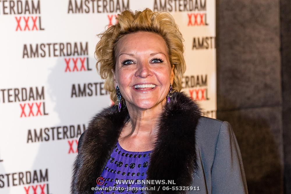 NLD/Amsterdam/20170324 - Uitreiking 2de editie XXXL Magazine, Mariska van Kolck