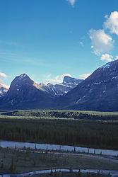 Mountains Around Jasper