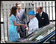 The Queen in Downing Street 24-7-12