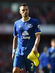 Everton's Morgan Schneiderlin  at full time