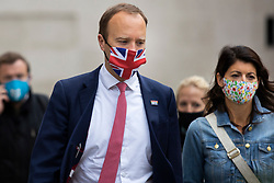 **FILE PICTURE** © Licensed to London News Pictures. 22/06/2021. London, UK. Secretary of State for Health and Social Care Matt Hancock departs the BBC with his senior aide Gina Coladangelo.  Photo credit: George Cracknell Wright/LNP